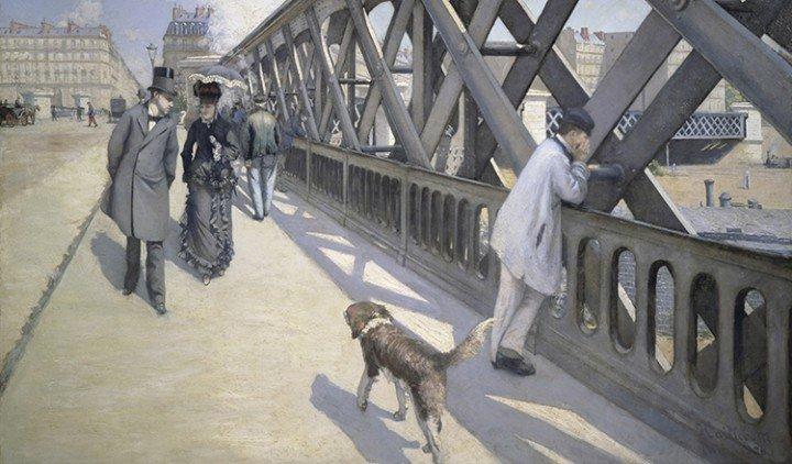 The Bridge of Europe, 1876, oil on canvas | Photo Credit: [ The Art Archive / Musée du Petit Palais Geneva / Superstock ]