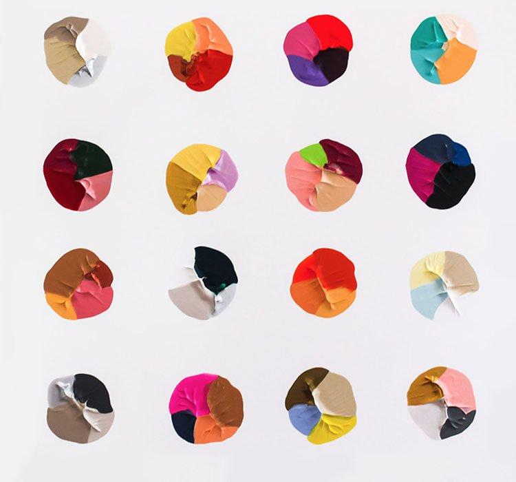 Quadro 1. Tela da artista Logan Ledford, com sugestões de paletas.