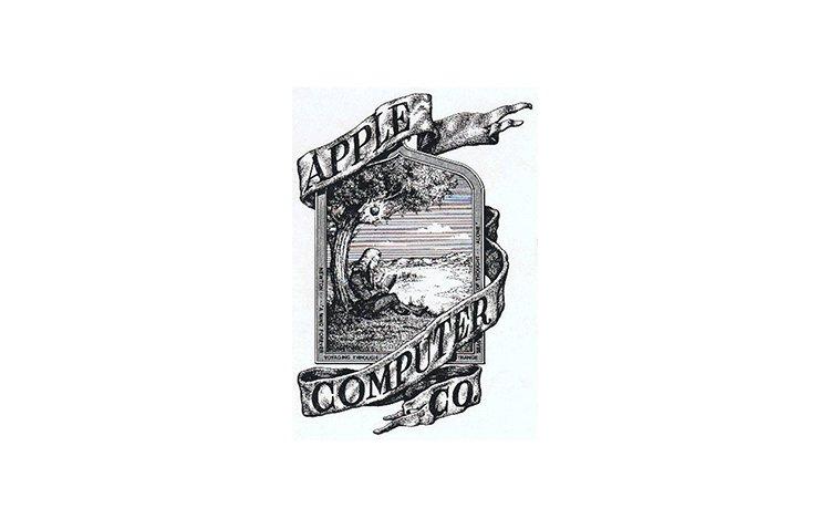 Quadro 3. Primeiro logotipo da Apple, de 1976