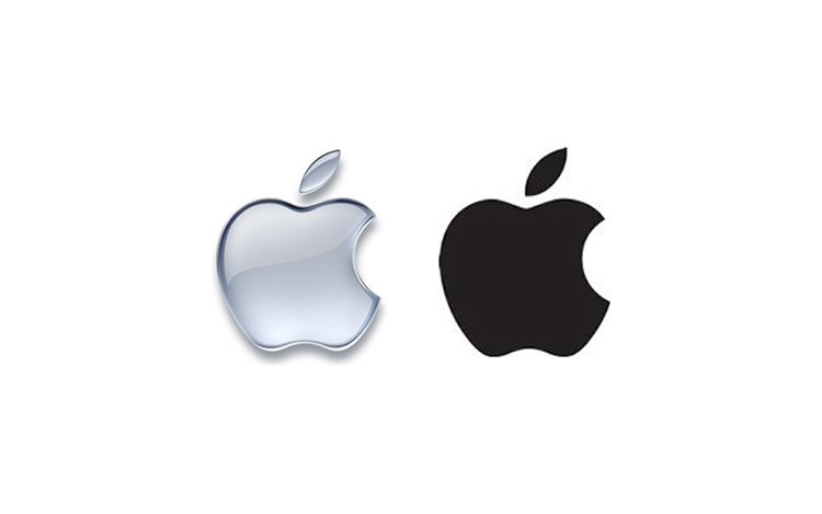 Quadro 5. Terceiro e último logotipos da Apple